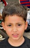 Süßes indisches Kind stockfotografie