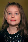 Süßes kleines Mädchen lizenzfreie stockbilder
