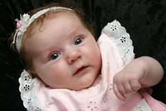 Süßes kleines Mädchen Stockfotografie