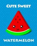 Süßes Lebensmittelplakat Lizenzfreies Stockfoto