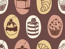 Süßes Muster Lizenzfreies Stockfoto
