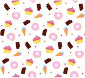 Süßes Muster Lizenzfreie Stockbilder