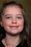 Süßes nettes kleines Mädchen lizenzfreies stockbild