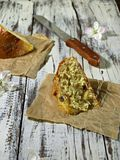 Süßes Ostern-Brot Lizenzfreie Stockfotos