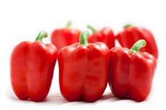 Süßes rotes paprica Lizenzfreie Stockfotos