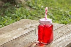 Süßes Soda gemischt mit rotem Soda Lizenzfreie Stockbilder