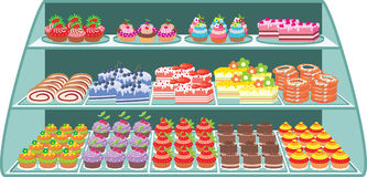 Süßes System Stockbilder