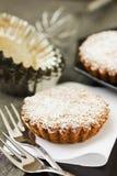 Süßes Törtchen mit Zucker Lizenzfreies Stockfoto