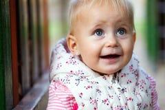 Süßes und glückliches Baby Stockfotografie