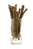 Süßholzwurzel (Steuerknüppel) stockfotografie