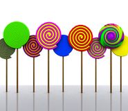 Süßigkeit - 3D Stockbilder