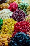 Süßigkeit am Basar Stockfotografie