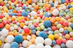 Süßigkeit - bunte Kindersüßigkeiten Stockbild