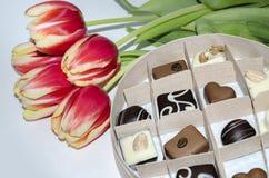 Süßigkeit in einem Kasten Lizenzfreies Stockfoto