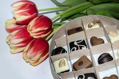 Süßigkeit in einem Kasten Lizenzfreie Stockfotografie