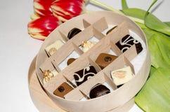 Süßigkeit in einem Kasten Lizenzfreie Stockbilder