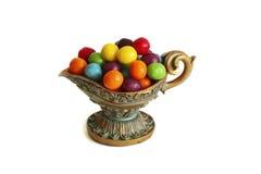 Süßigkeit in einem Vase Stockfotos