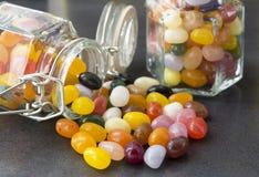 Süßigkeit in einem Weckglas Lizenzfreies Stockbild