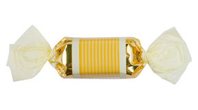 Süßigkeit getrennt auf weißem Hintergrund stockfoto