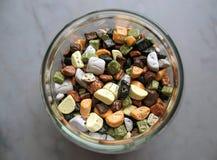 Süßigkeit-Glas Stockbild
