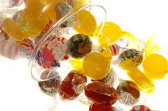 Süßigkeit-Glas stockbilder