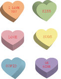 Süßigkeit-Innere Lizenzfreie Stockfotos