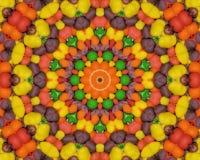 Süßigkeit-Kaleidoskop Stockbild