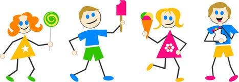 Süßigkeit-Kinder Lizenzfreies Stockfoto