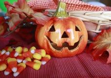 Süßigkeit-Mais im Korb Lizenzfreie Stockfotos