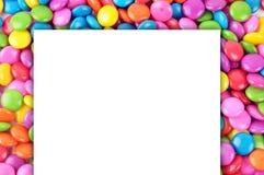 Süßigkeit mit Papier lizenzfreie stockfotos