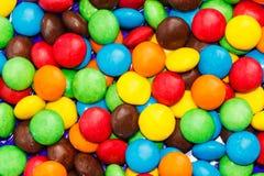 Süßigkeit punktiert Hintergrund Stockfotos