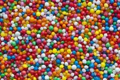 Süßigkeit spritzt Hintergrund Stockbild