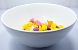 Süßigkeit Thailand Aalaw bunt Stockfoto