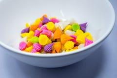 Süßigkeit Thailand Aalaw bunt auf Himmel Stockfotos