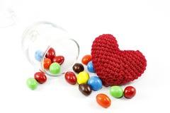 Süßigkeit und Inneres Lizenzfreie Stockbilder