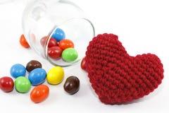 Süßigkeit und Inneres Stockfotografie