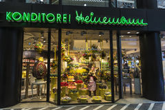 Süßigkeiten in Dusseldorf, Deutschland Lizenzfreies Stockfoto