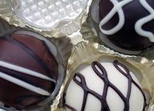 Süßigkeiten in einem Tellersegment Lizenzfreies Stockfoto