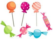 Süßigkeiten eingestellt Lizenzfreies Stockfoto