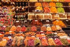 Süßigkeiten für Verkauf am lokalen Markt Lizenzfreie Stockbilder