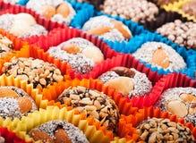 Süßigkeiten und Bonbons, geschmackvoll stockbilder
