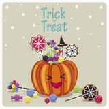 Süßigkeiten und die Phrase vektor abbildung