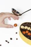 Süßigkeiten werden für Sie verboten Lizenzfreies Stockfoto