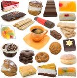 Süßigkeitenansammlung Stockbild