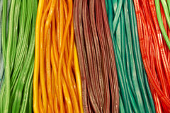 Süßigkeitfarbe Lizenzfreies Stockfoto
