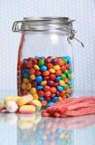 Süßigkeitglas Lizenzfreie Stockfotos