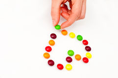 Süßigkeitinneres Stockfoto
