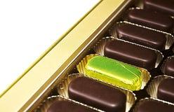 Süßigkeitkasten Stockfoto