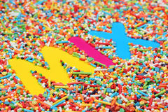 Süßigkeitmischung Stockbilder