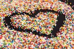 Süßigkeits-Herz Stockbilder